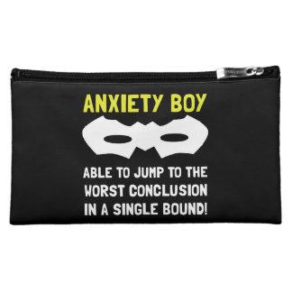 Anxiety Boy Cosmetic Bag