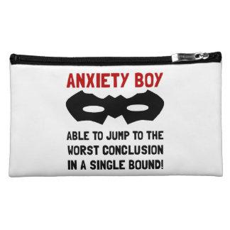 Anxiety Boy Makeup Bag
