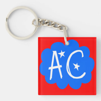 Anxiety Central Keyring Keychain