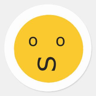 Anxiety Classic Round Sticker