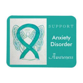 Anxiety Disorder Awareness Angel Custom Magnet
