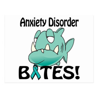 Anxiety Disorder BITES Postcard