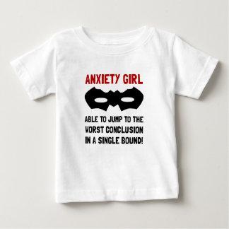 Anxiety Girl Baby T-Shirt