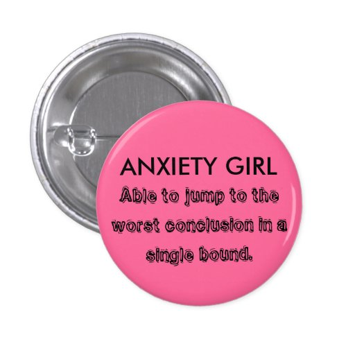 ANXIETY GIRL BUTTONS