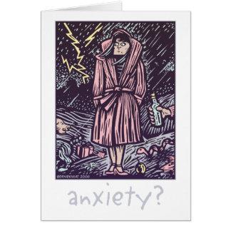 Anxiety Greeting Card