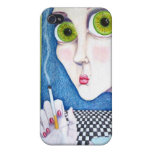 Anxiety iPhone 4/4S Cases