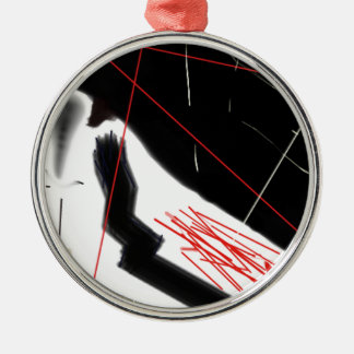 Anxiety Metal Ornament