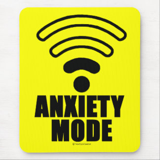 Anxiety mode mouse pad