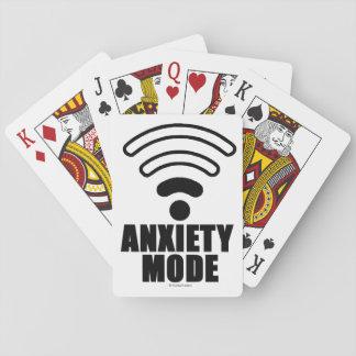 Anxiety mode poker deck