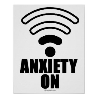Anxiety on poster