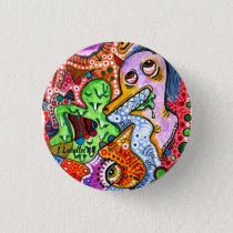 """""""Anxiety"""" Pinback Button"""