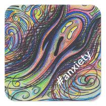 #anxiety sticker