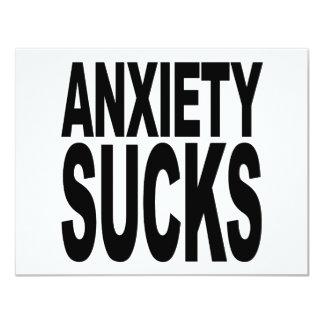 Anxiety Sucks Card