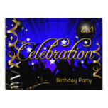 Any Age Birthday Party Celebration Teens or Adults 5.5x7.5 Paper Invitation Card