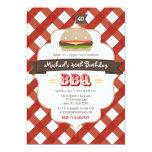 ANY AGE SURPRISE BBQ BIRTHDAY PARTY CUSTOM INVITATION
