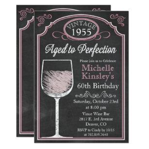 Aged To Perfection Invitations Zazzle