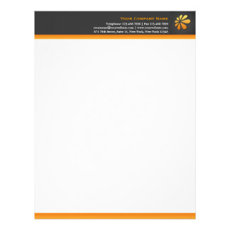 Any Business with Logo Letterhead