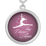 Any Chance To Dance Personalized Necklace
