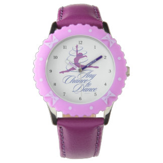 Any Chance To Dance Wrist Watch
