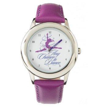 Any Chance To Dance Wristwatch by eBrushDesign at Zazzle
