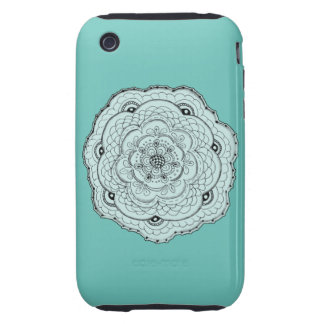 Any Color Background Colorful Music Heart iPhone 3 Tough Cases