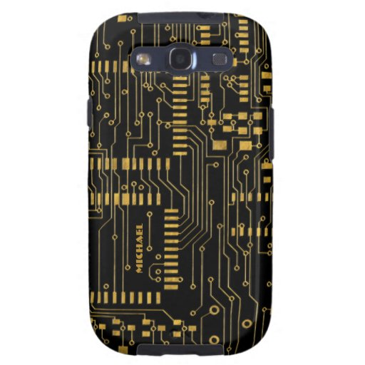 [Any Color] Electronic Circuit Board Samsung  Case