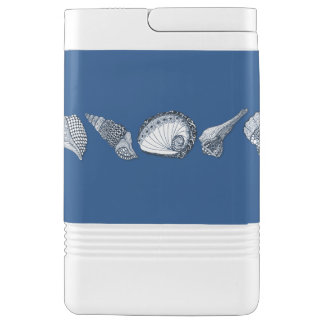 Any Color Hand Drawn Sea Shells Drink Cooler