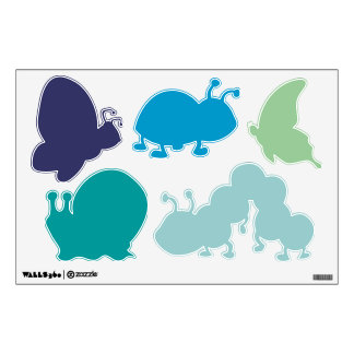 Any color Insect Wall Stickers for Baby Boy Girl