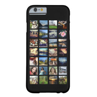 Any Color Instagram Stream Multiple Photo Grid Barely There iPhone 6 Case