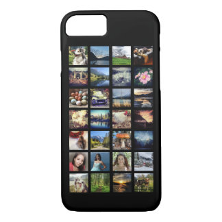 Any Color Instagram Stream Multiple Photo Grid iPhone 7 Case