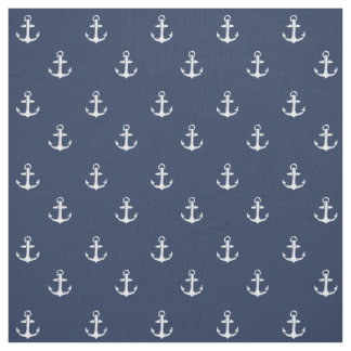 Nautical themed fabric zazzle for Nautical nursery fabric