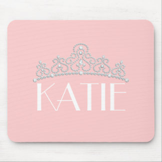 Any Color Personalized Tiara Mouse Pad