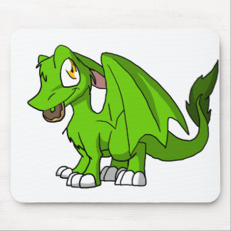 Any Color SD Furry Dragon w/ Donut 1 Mouse Pad