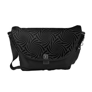Any Color Swirl Tile Design Courier Bag