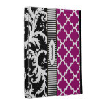 Any Color Vintage Damask Morccan Tile iPad Case