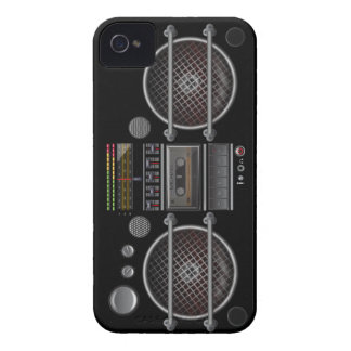 Any Color Vintage Ghetto Blaster iPhone 4 Cover