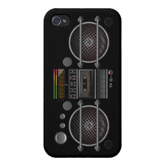 Any Color Vintage Music  Ghetto Blaster iPhone 4 C iPhone 4 Cover