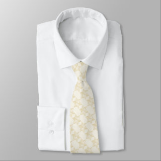 Any Color with Ivory Star of David Pattern Neck Tie