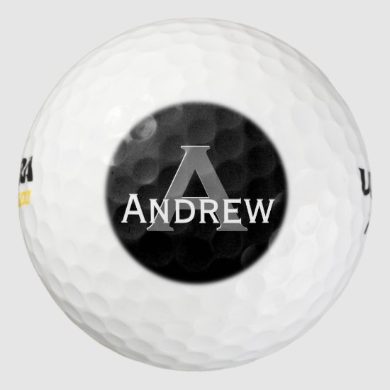 Any Custom Color Monogram Personalized Golf Ball