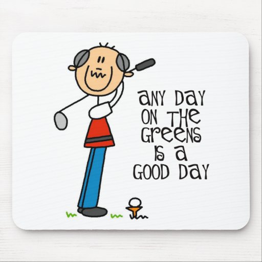 Any Day On The Greens Mousepad