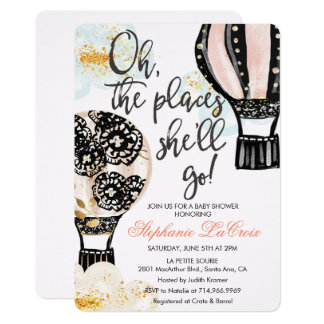 ANY EVENT - Hot Air Balloon Invitation