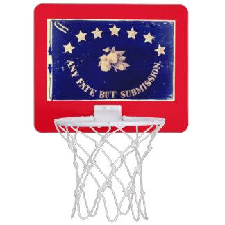 Any Fate But Submission - Florida Battle Flag Mini Basketball Backboard