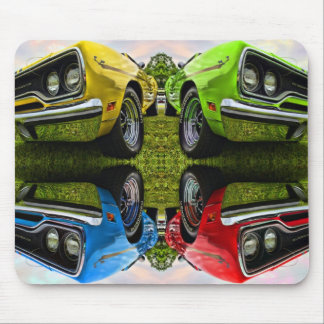 Any Flavor You Like - 1970 Plymouth Road Runner Mouse Pad
