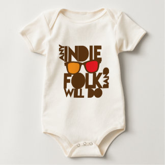ANY indie folk band will do! Baby Bodysuit
