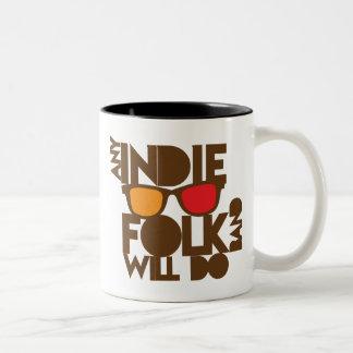 ANY indie folk band will do! Mug