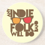 Any indie Folk band will do ND music Beverage Coaster