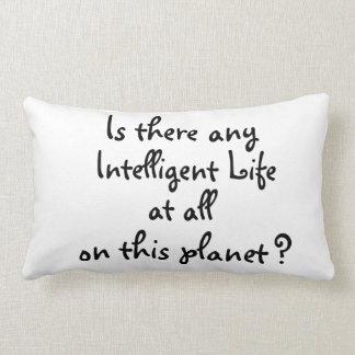 Any Intelligent life?-pillow Lumbar Pillow