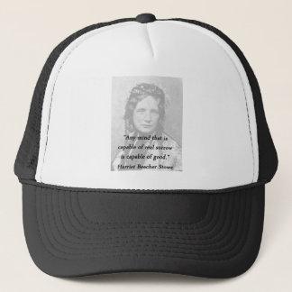 Any Mind - Harriet Beecher Stowe Trucker Hat