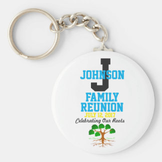 Any Name Family Reunion with Any Date - Keychain