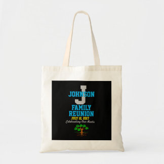 Any Name Family Reunion with Any Date - Tote Bag
